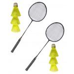 Aadia Badminton Racquets And 6 Shuttles ( B0713RY1YH)