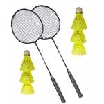 Aadia 2 Racquets And 6 Shuttles (B07116G9T7)