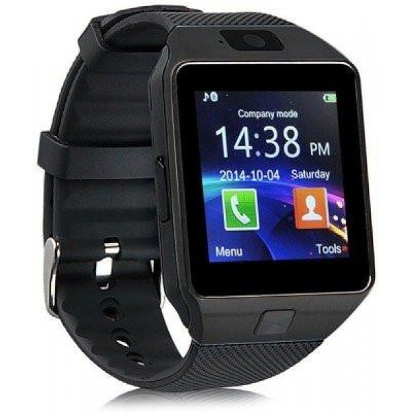 PremiumAV DZ09 Black Smartwatch