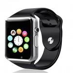 PremiumAV A1 Silver Smartwatch
