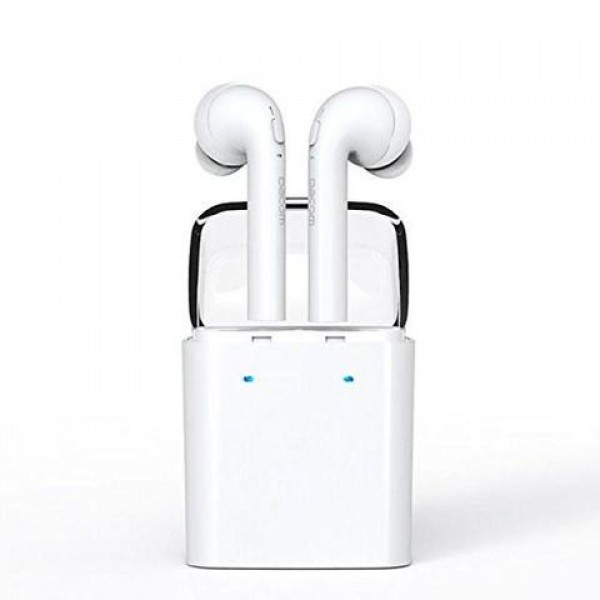 PremiumAV Twin True Wireless Bluetooth 4.2 Airpod Earphone White