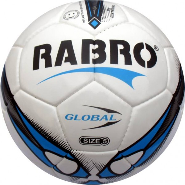 Rabro Global Football Size-5 (Pack of 1, Multicolor)
