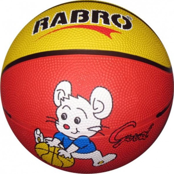 Rabro Mini Kids Basketball Size-1 (Pack of 1, Multicolor)