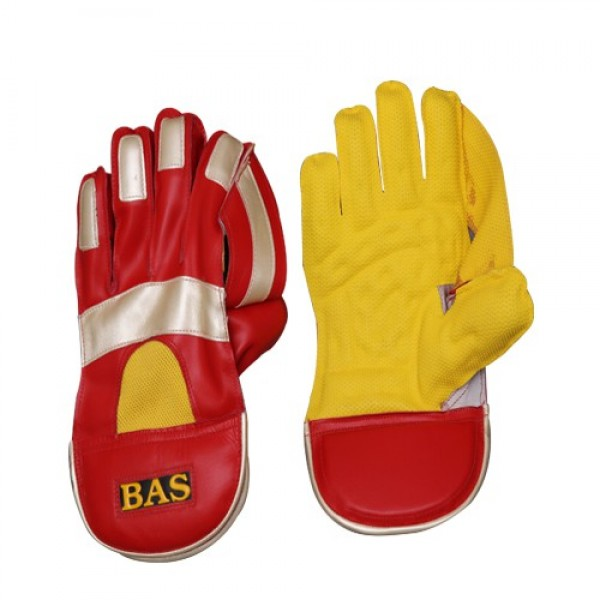 BAS Vampire Gold Wicket Keeping Gloves (Mens)