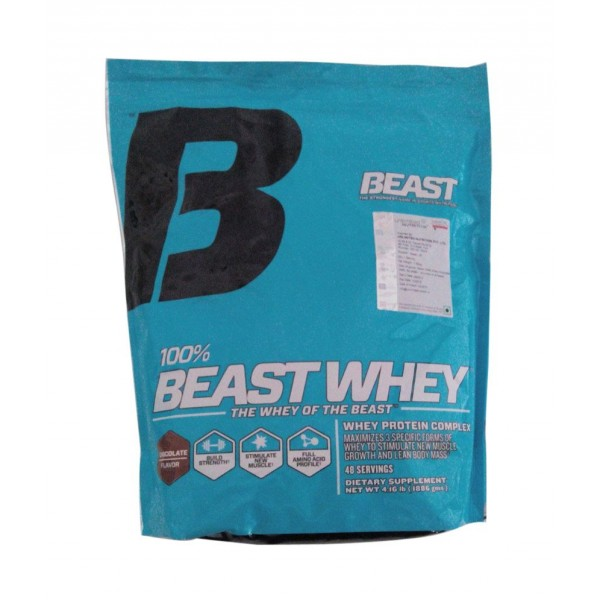 Beast Sports Nutrition 100% Beast Whey 4Lbs (Chocolate)