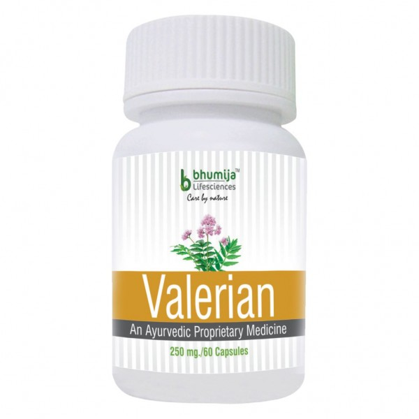 Bhumija Lifesciences Valerian Capsules 60's