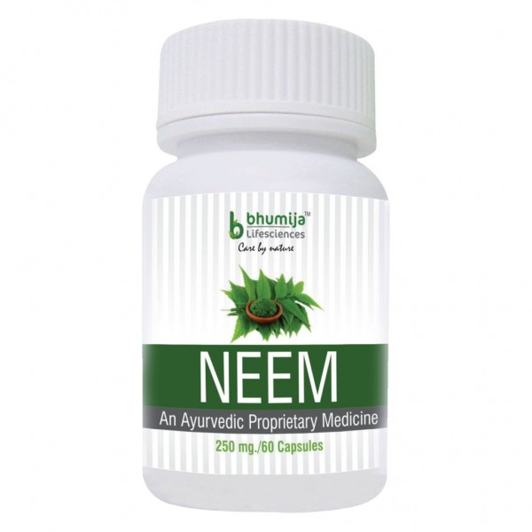 Bhumija Lifesciences Neem Capsles 60's