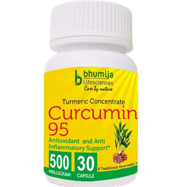 Bhumija Lifesciences Curcumin with Piper Nigram (Curcuma Longa) 30's Capsules