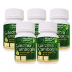 Bhumija Lifesciences Garcinia Cambogia Capsules 60's (Pack of Five)