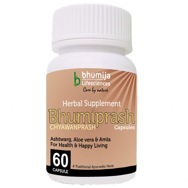 Bhumija Lifesciences Chywanprash Capsules (Bhumi Prash) 60's