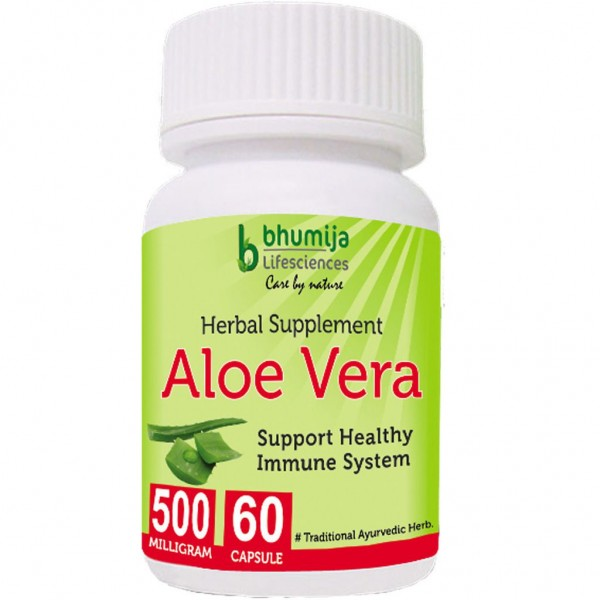 Bhumija Lifesciences Aloevera Capsules 60's