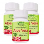 Bhumija Lifesciences Aloevera Capsules 60's (Pack of Three)
