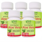 Bhumija Lifesciences Aloevera Capsules 60's (Pack of Five)