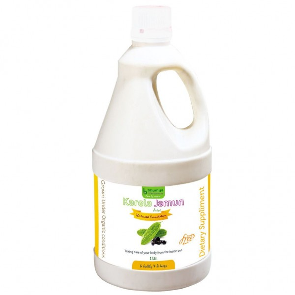 Bhumija Lifesciences Karela Jamun Juice (Sugar Free) 1 Ltr.