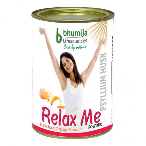 Bhumija Lifesciences Psyllium Husk (Isabgol) Powder (Relex Me) 360g.