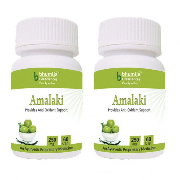 Bhumija Lifesciences Amalaki Capsules 60's (Pack of Two)