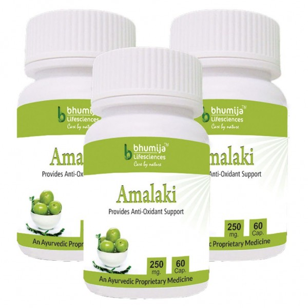 Bhumija Lifesciences Amalaki Capsules 60's (Pack of Three)