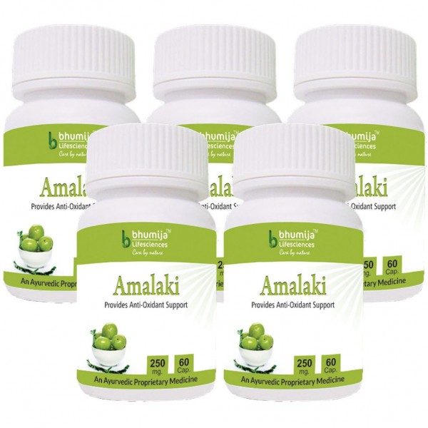 Bhumija Lifesciences Amalaki Capsules 60's (Pack of Five)