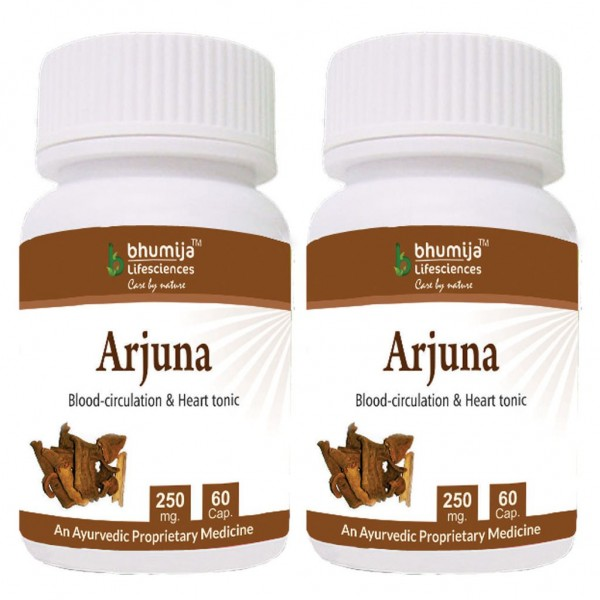 Bhumija Lifesciences Arjuna Capsules 60's (Pack of Two)
