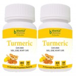 Bhumija Lifesciences Turmeric Capsules 60's (Pack of Two)