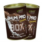 Bhumija Lifesciences Soy Protein 80% Chocolate (Bhumi Pro) 200g. (Two Pack)