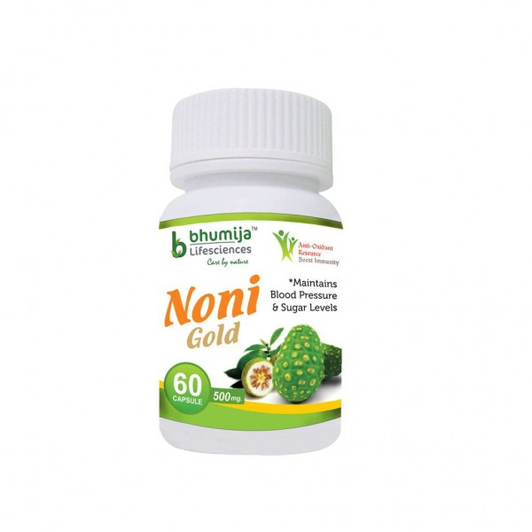 Bhumija Lifesciences Noni Gold Cap 60's