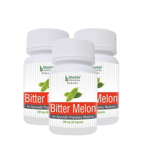 Bhumija Lifesciences Bitter Melon Capsules 60's (Pack of Three)