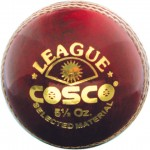 Cosco League Cricket Leather Ball
