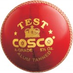 Cosco Test Cricket Leather Ball