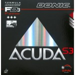 Donic Accuda S3 Table Tennis Rubber