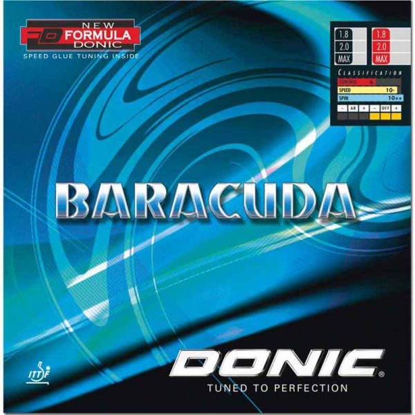 Donic Barracudda (Black) Table Tennis Rubber