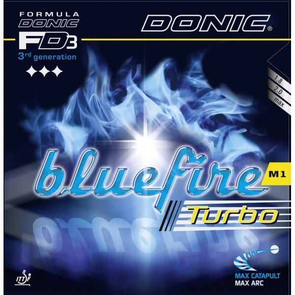 Donic Blue Fire M1 (Black) Table Tennis Rubber