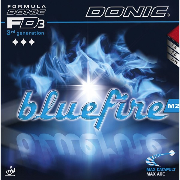 Donic Blue Fire M2 (Black) Table Tennis Rubber