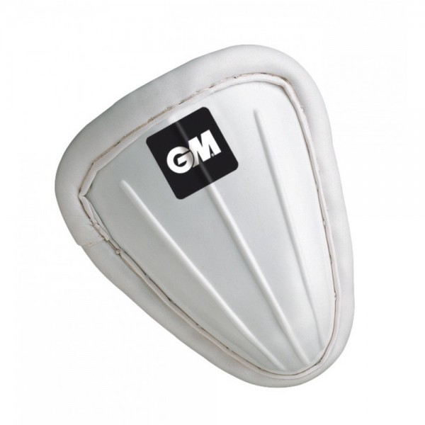 GM 5620 Traditionally Shaped Cricket Abdominal Guard (Slip In Padded)