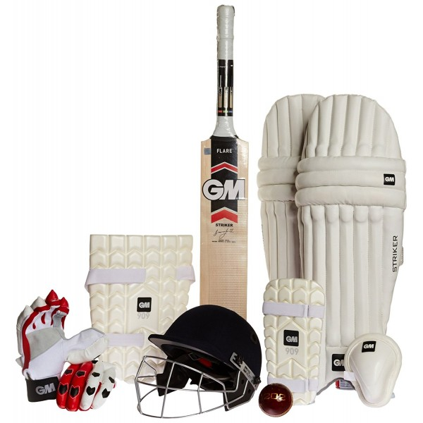 GM Complete Cricket Kit (With Helmet)