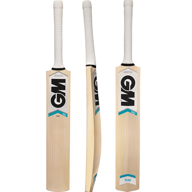 fee61d820 Buy GM Six6 101 Kashmir Willow Cricket Bat Online at Best Price on SportsGEO .