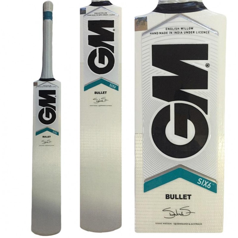 f131507d3 Buy GM Six6 Bullet English Willow Cricket Bat Online at Best Price on  SportsGEO.