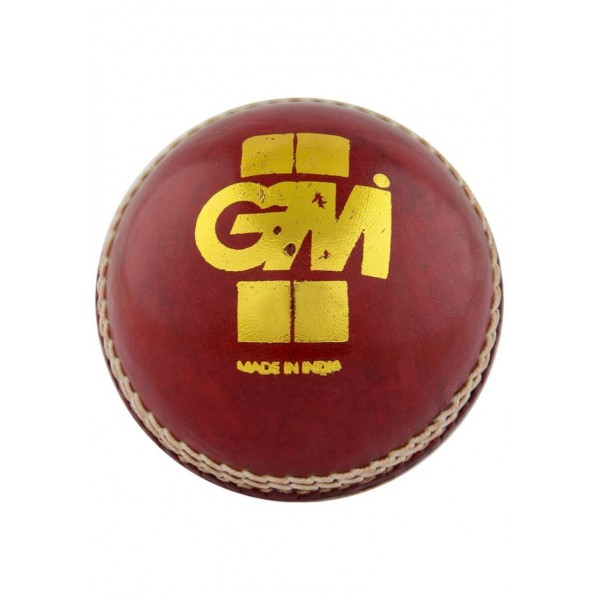 GM Crown Match Cricket Leather Ball