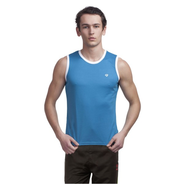 Gypsum Men Cut Sleeve Tshirt Royal  Color GYPMCS-00101