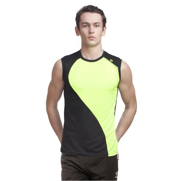 Gypsum Men Cut Sleeve Tshirt Black Color GYPMCS-00107