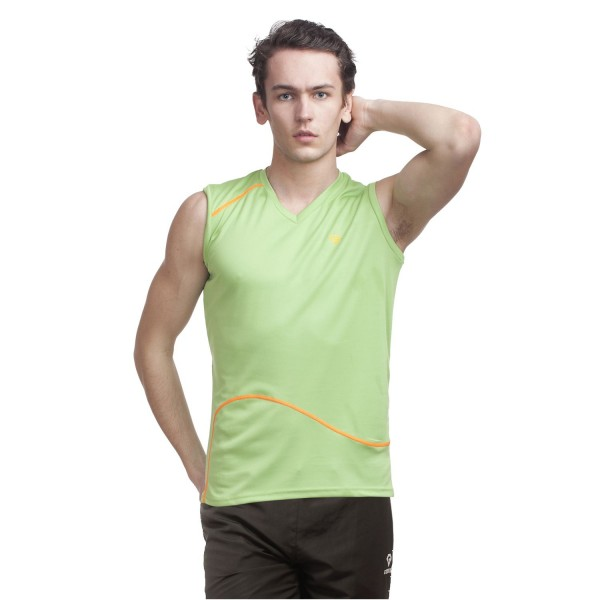 Gypsum Men Cut Sleeve Tshirt Sea Green Color GYPMCS-00112