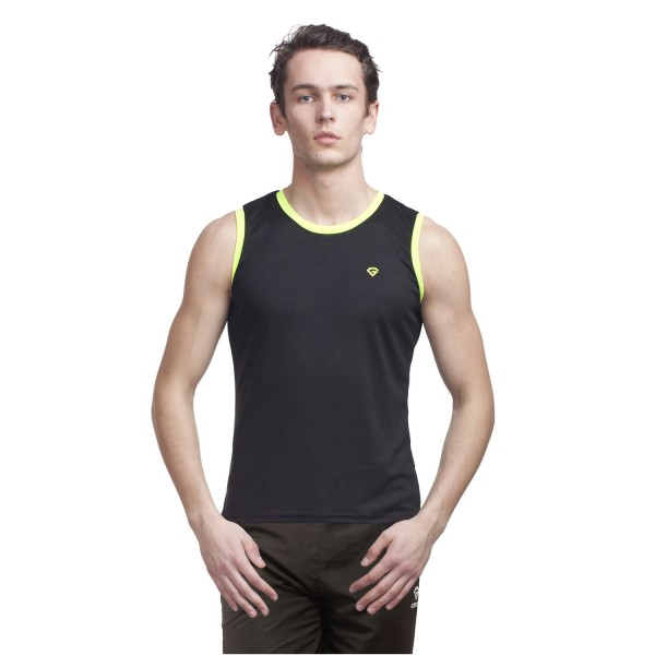 Gypsum Mens Cut Sleeve Tshirt Black Color GYPMCS-00116