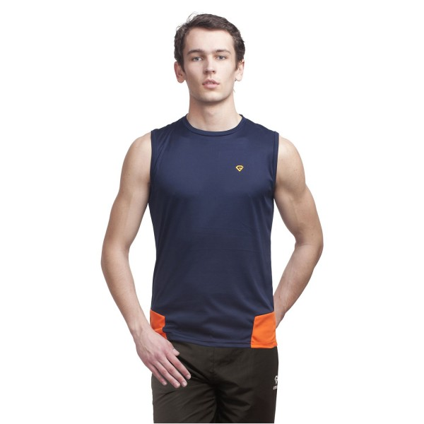 Gypsum Mens Cut Sleeve Tshirt Navy Color GYPMCS-00117