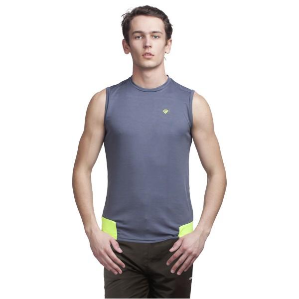 Gypsum Mens Cut Sleeve Tshirt Grey  Color GYPMCS-00122