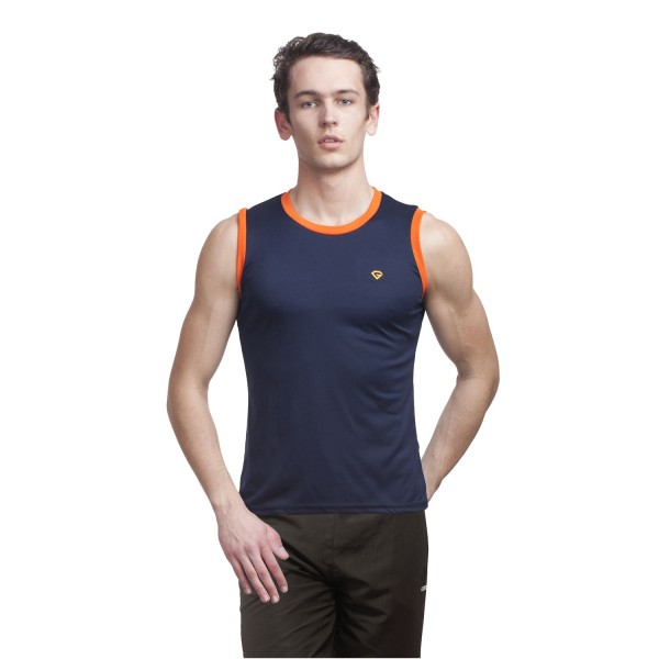 Gypsum Mens Cut Sleeve Tshirt Navy Color GYPMCS-00124