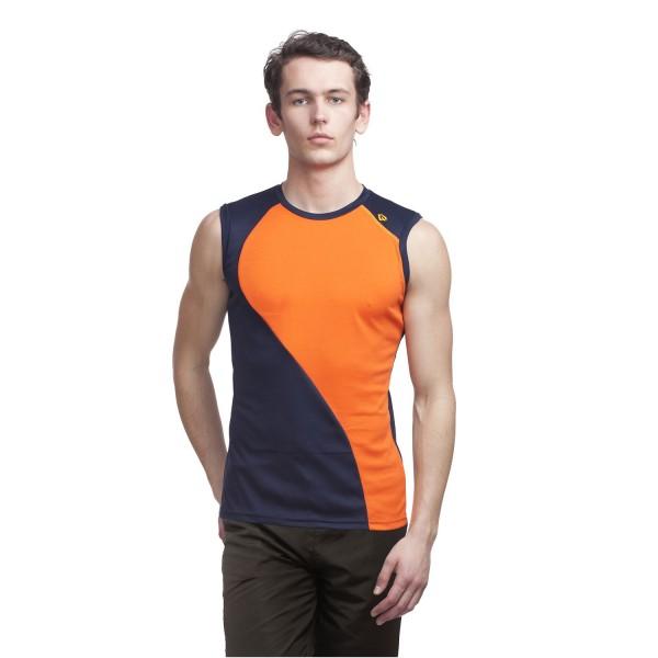 Gypsum Mens Cut Sleeve Tshirt Navy Color GYPMCS-00127