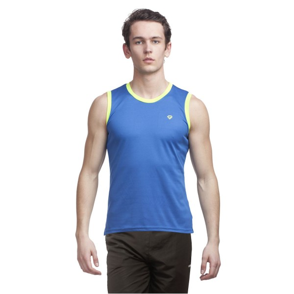 Gypsum Mens Cut Sleeve Tshirt Royal Blue Color GYPMCS-00128