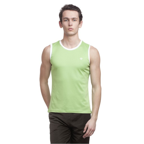 Gypsum Mens Cut Sleeve Tshirt Sea Green Color GYPMCS-00129