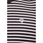 Gypsum Mens Striper Cut Sleeve Tshirt Black Color GYPMCS-00170
