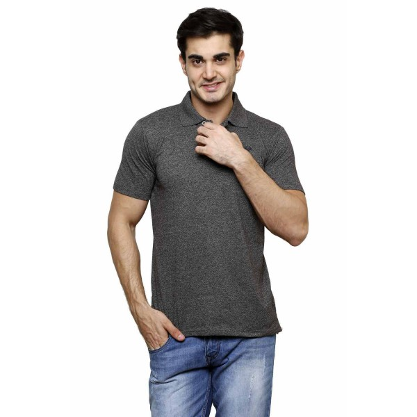 Gypsum Mens Polo Tshirt Black Color GYPMPT-00173